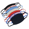 View Extra Image 3 of 3 of USA Made 4-Ply Cotton Face Mask with Nose Band