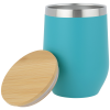 View Extra Image 1 of 2 of Vacuum Wine Cup with Bamboo Lid - 12 oz. - 24 hr