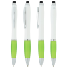 View Extra Image 1 of 3 of Satin Twist Stylus Pen with Antimicrobial Additive