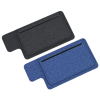View Extra Image 6 of 6 of Heathered RFID Phone Wallet and Stand