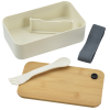 View Extra Image 2 of 6 of Bento Box with Bamboo Cutting Board Lid