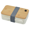 View Extra Image 3 of 6 of Bento Box with Bamboo Cutting Board Lid