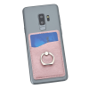 View Extra Image 2 of 6 of Leeman Shimmer Phone Wallet with Ring Stand
