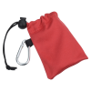 View Image 3 of 4 of Microfiber Pouch with Colorful Ear Buds