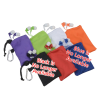View Image 4 of 4 of Microfiber Pouch with Colorful Ear Buds