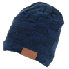 View Image 3 of 6 of Fuzzy Lined Heather Knit Beanie