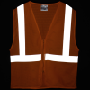 View Image 2 of 3 of Reflective Zippered Vest