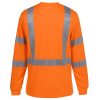 View Image 2 of 4 of Enhanced Reflective Performance LS Pocket T-Shirt