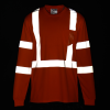 View Image 4 of 4 of Enhanced Reflective Performance LS Pocket T-Shirt