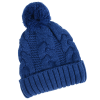 View Image 2 of 4 of Divergent Knit Pom Beanie