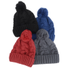 View Image 4 of 4 of Divergent Knit Pom Beanie