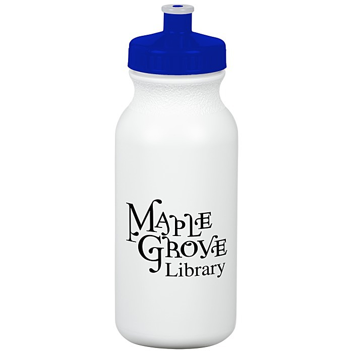 Logo 4imprint Com Sport Bottle With Push Pull Lid 20 Oz