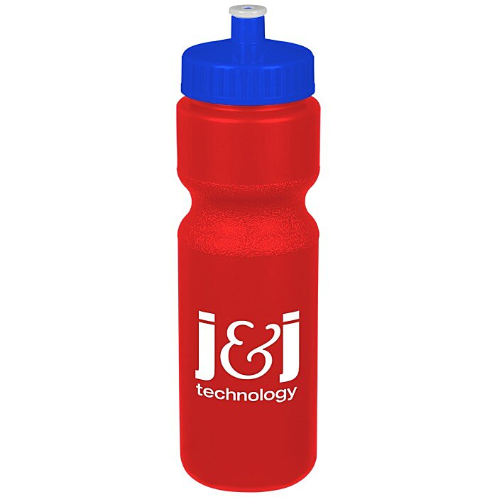 logo 4imprint com sport bottle with push pull lid 28 oz