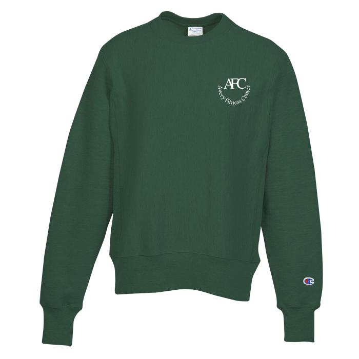 74aa836e9be9b 4imprint.com  Champion Reverse Weave 12 oz. Crew Sweatshirt - Screen ...