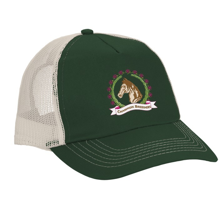 99f02419bc384 4imprint.com  Mesh Back Trucker Cap - Embroidered 8169-E