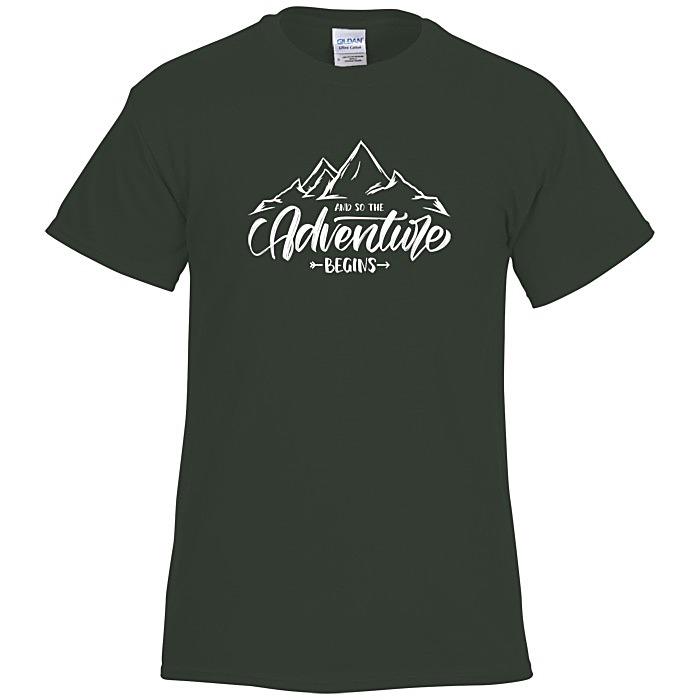 e578610ee 4imprint.com: Gildan 6 oz. Ultra Cotton T-Shirt - Men's - Screen ...