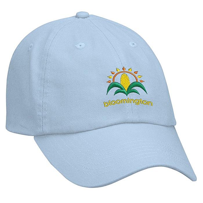 456e2121 4imprint.com: Bio-Washed Cap - Solid - Embroidered 9646-S-E