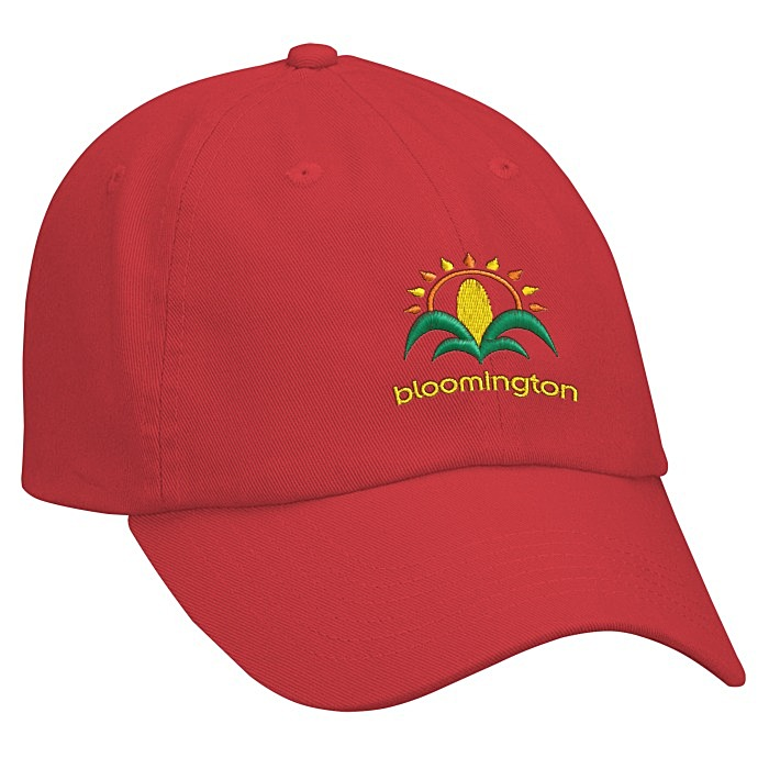 6deecf8ad86 4imprint.com  Bio-Washed Cap - Solid - Embroidered 9646-S-E
