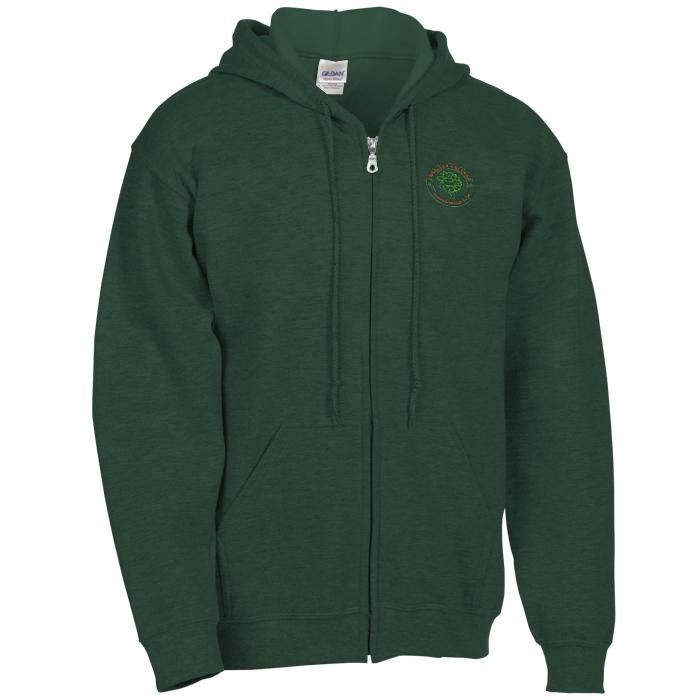 f0f871ca 4imprint.com: Gildan Full-Zip Hoodie - Men's - Embroidered 9919-M-E