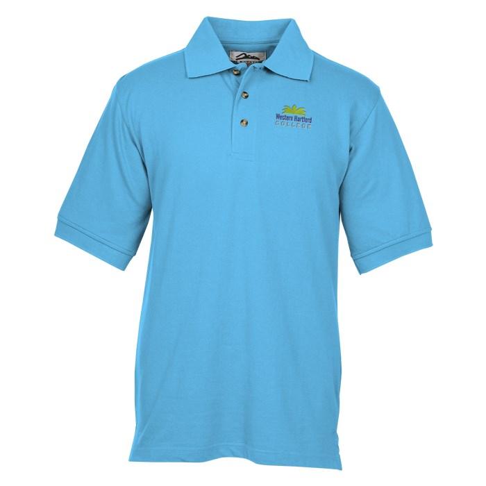 047b993d8ab9 4imprint.com  Profile 60 40 Blend Pique Polo - Men s 9937-M