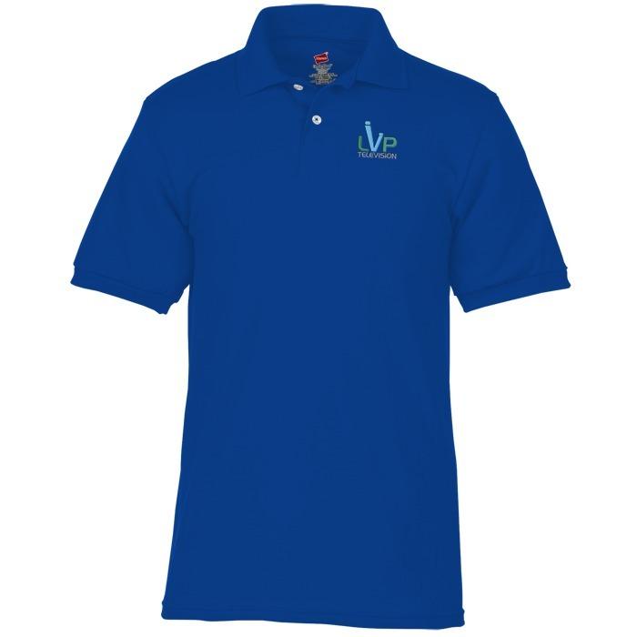 239e8b33 4imprint.com: Hanes ComfortBlend 50/50 Jersey Sport Shirt - Men's 104107