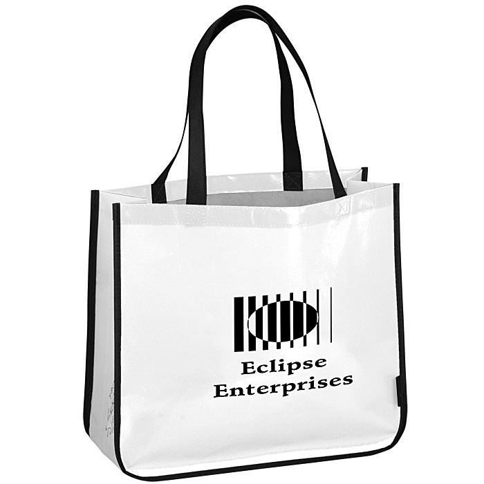 2792bf0330b 4imprint.com: Laminated Polypropylene Shopper Tote - 14