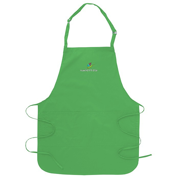 Stain Release Bib Apron with Teflon Finish Item No. 106834 from only
