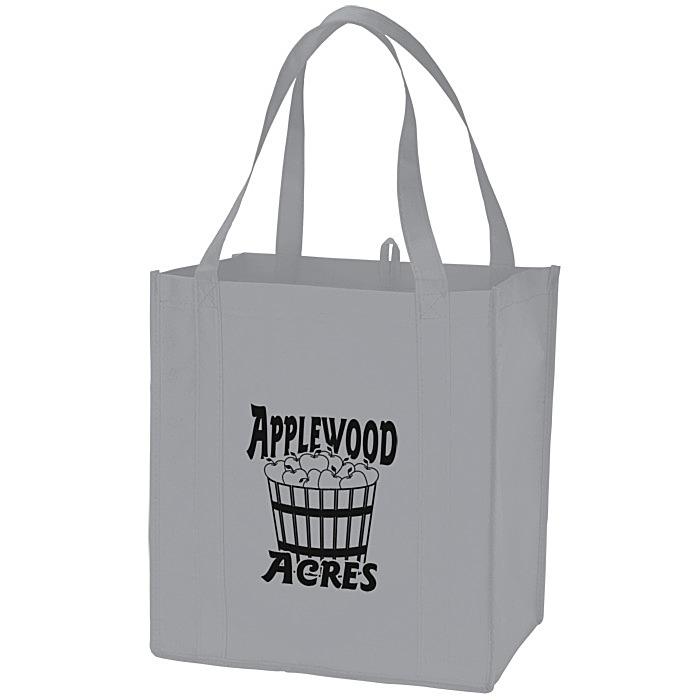 Celebrate 12 Reusable Burlap Gift Tote Bag Black Design