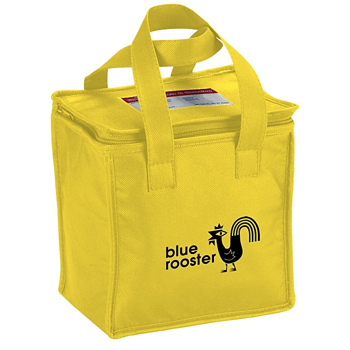 4imprint square non woven lunch bag 109470 imprinted