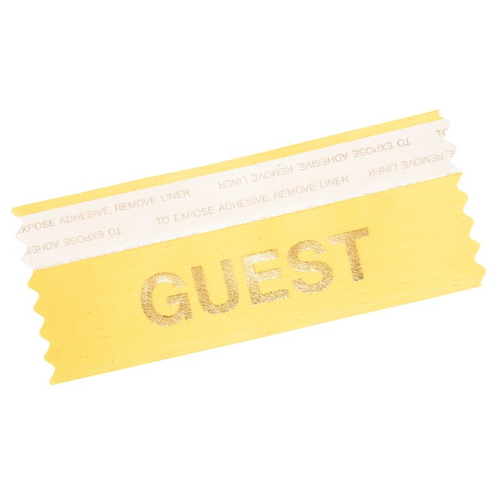 "4imprint.com: Stock Badge Ribbons 1-5/8"" x 4"" 109511"