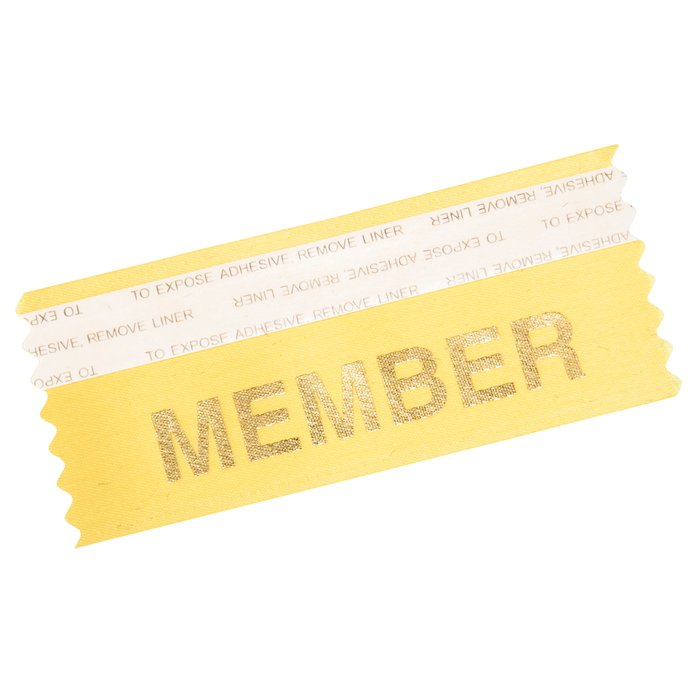 "4imprint.com: Stock Badge Ribbons 1-5/8"" x 4"" 109511"