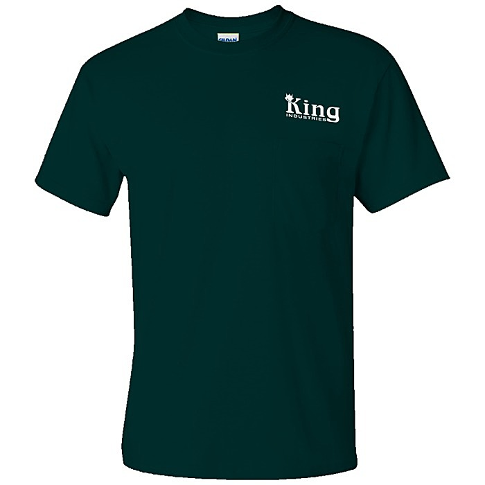 ca33d439 4imprint.com: Gildan 6 oz. Ultra Cotton Pocket T-Shirt - Screen ...