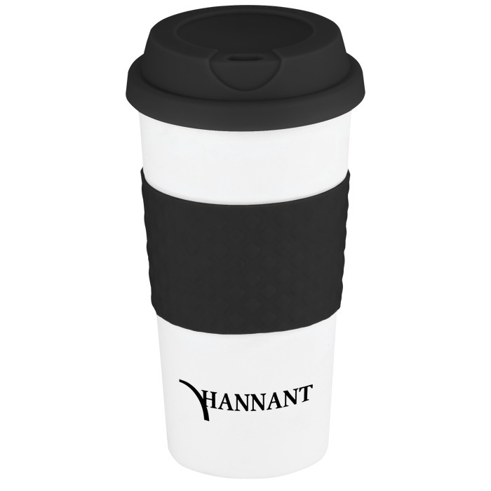color banded classic coffee cup 16 oz 111150