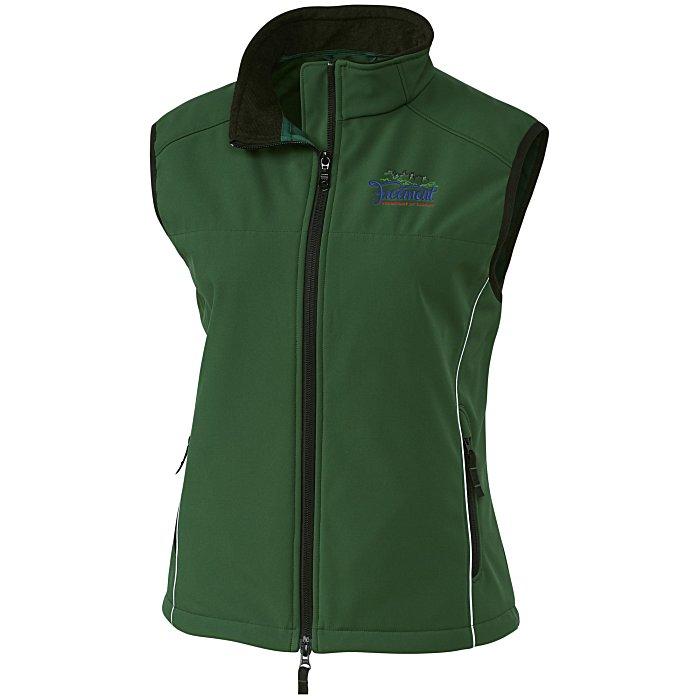 b9f58a50cc7 4imprint.com  Clique Soft Shell Vest - Ladies  111198-L