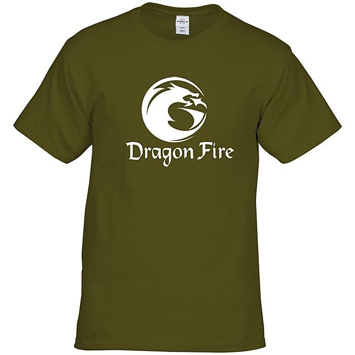 2960c45117ea3 4imprint.com  Hanes Tagless T-Shirt - Screen - Colors 6729-S-C-A