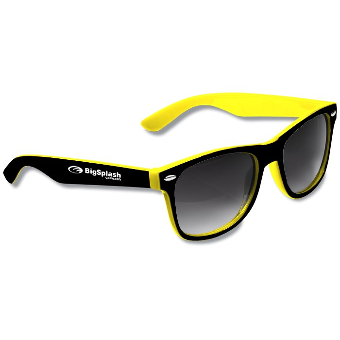 d094fc101ee 4imprint.com  Risky Business Sunglasses - Two Tone 109494-TT