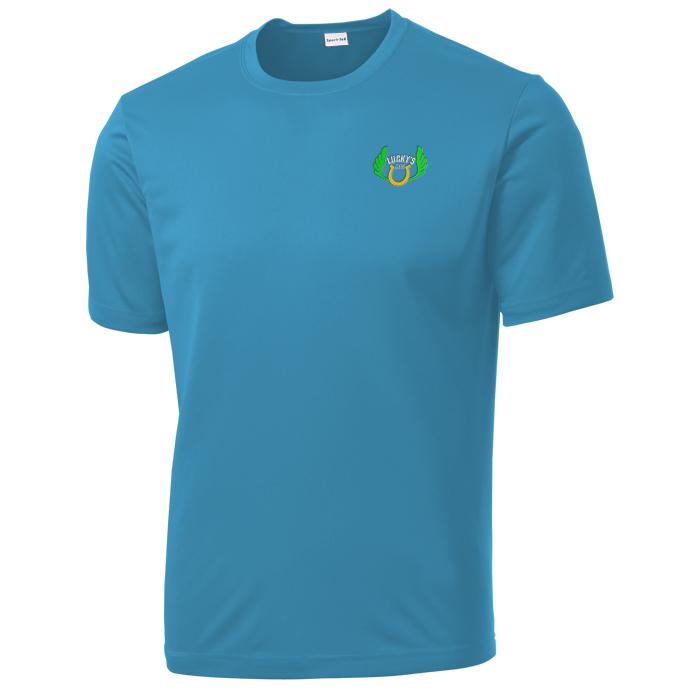 Blue Athletic Shirt