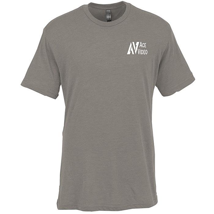 2fea15af0 4imprint.com: Next Level Tri-Blend Crew T-Shirt - Men's - Colors ...