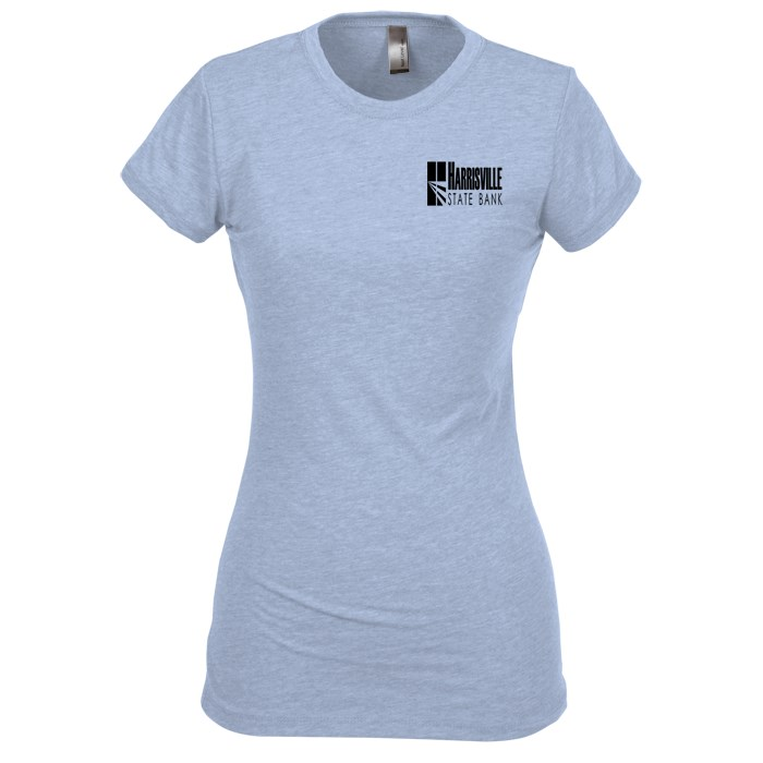4imprint.com: Next Level Poly/Cotton Tee - Ladies' 116550