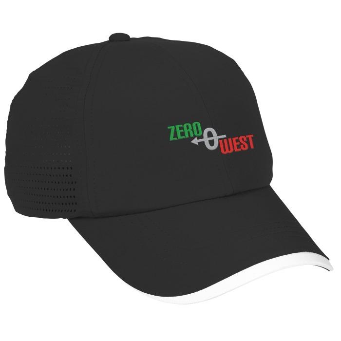 black and white nike cap