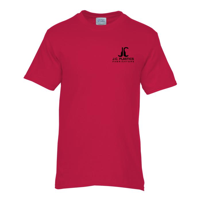 10b9d0e0 4imprint.com: Soft Spun Cotton T-Shirt - Men's - Colors - Screen ...