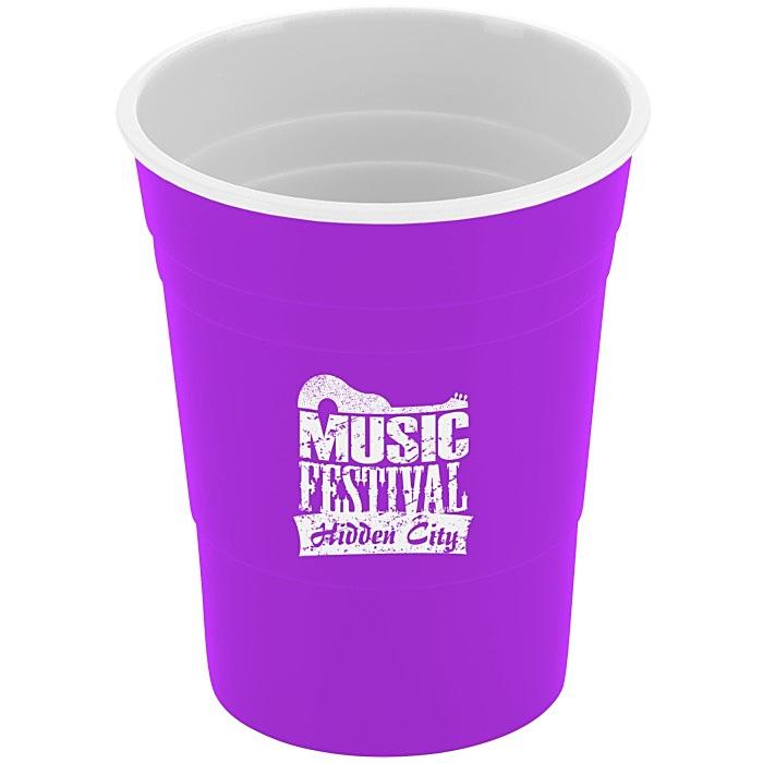 4imprint.com: Reusable Plastic Party Cup - 16 oz. 119687 ...