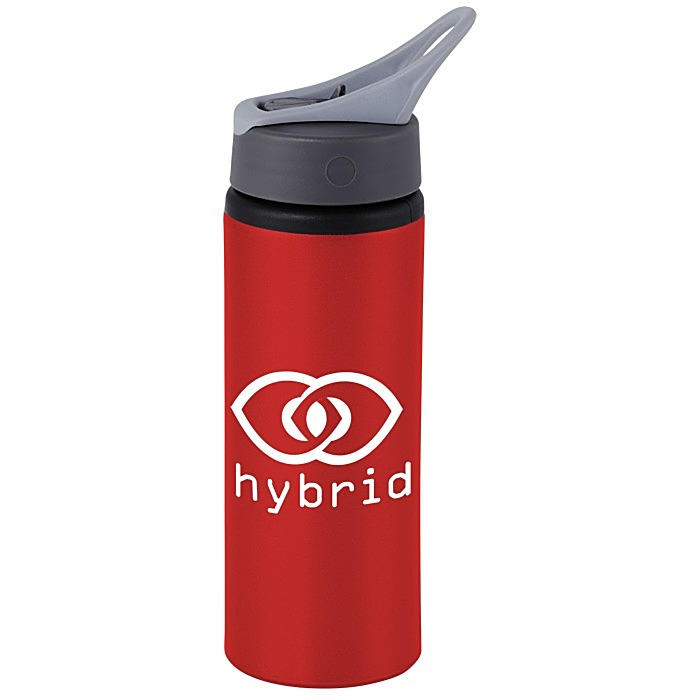 8d854f9f8a Custom Water Bottles | 4imprint.com: Sip & Flip Aluminum Bottle - 24 ...
