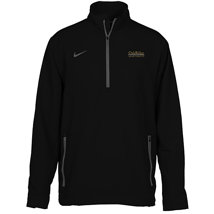 nike 1 2 zip pullover windshirt 120490. Black Bedroom Furniture Sets. Home Design Ideas