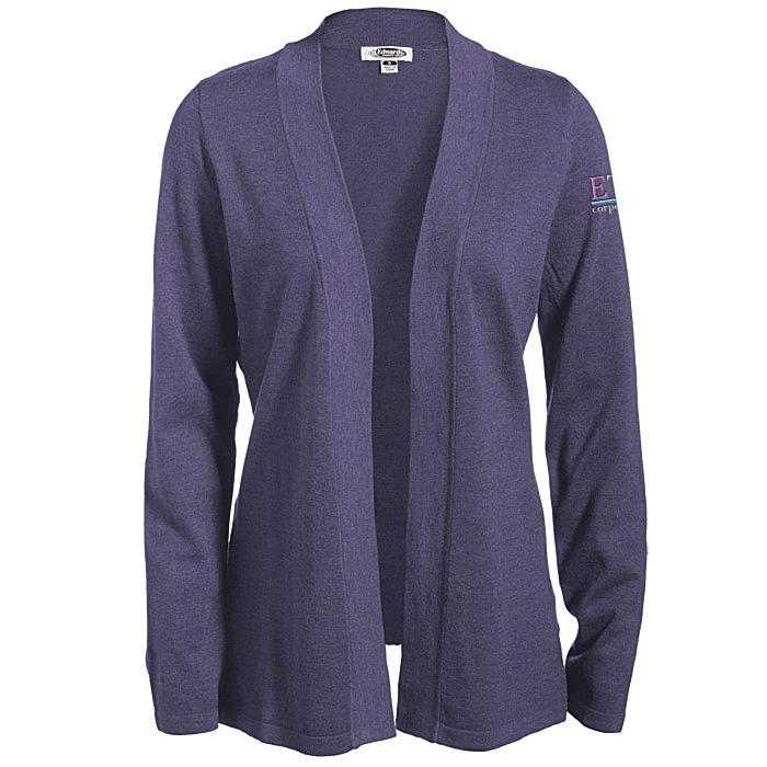 4imprint.com  Tri-Blend Open Cardigan Sweater 122137 16cb92df0