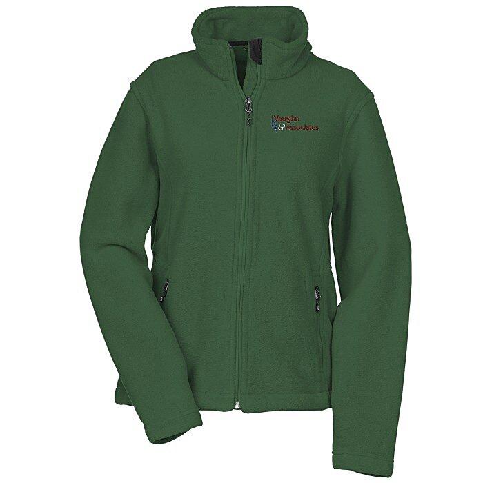 4imprint Com Crossland Fleece Jacket Ladies 123990 L