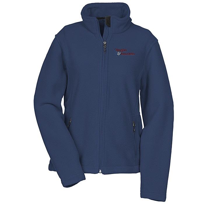 crossland fleece jacket ladies 123990 l