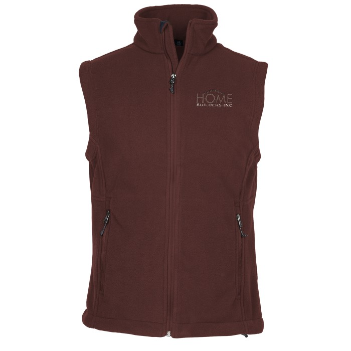 4imprint Com Crossland Fleece Vest Men S 123990 M V