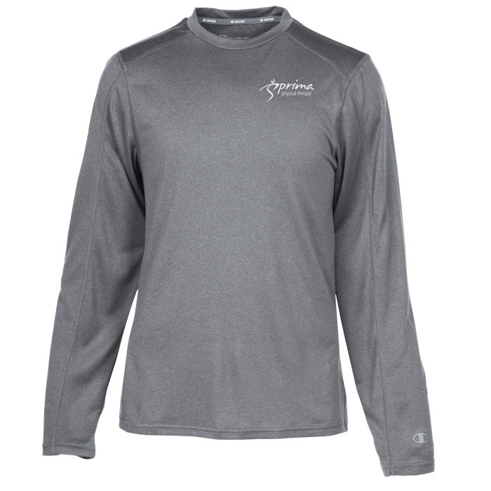 2a3897305 4imprint.com: Champion Vapor Long Sleeve T-Shirt 124245-LS