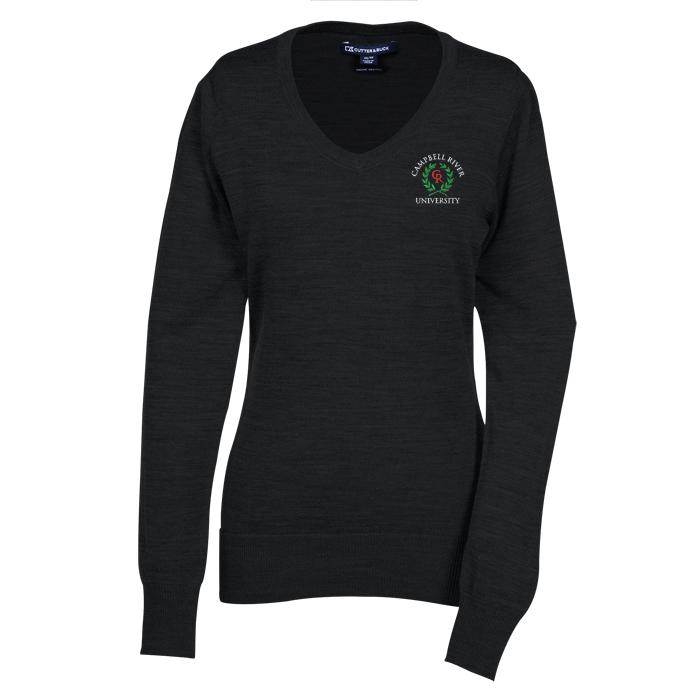 4imprint.com: Cutter & Buck V-Neck Merino Blend Sweater